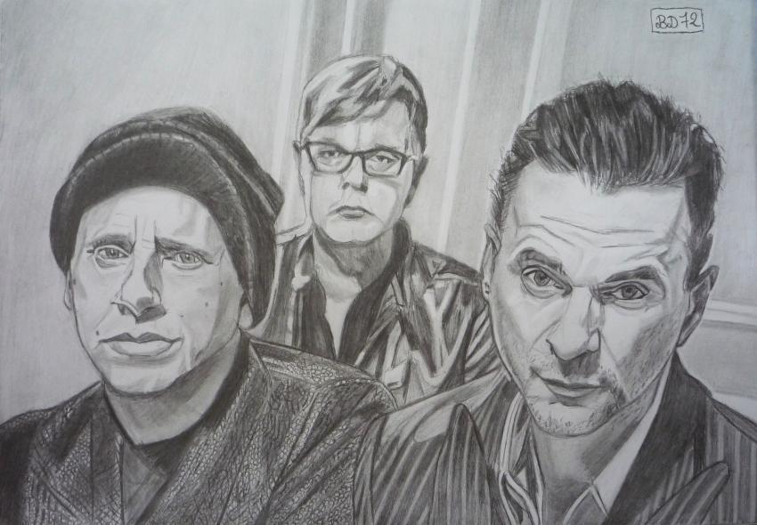 Depeche Mode by beasalsa